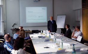 Welcome speech by Prof. Dr. Hans-Michael Wolffgang, Introductory Seminar, September 2014.